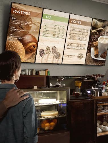 Digital Menus for Quick Service Restaurants