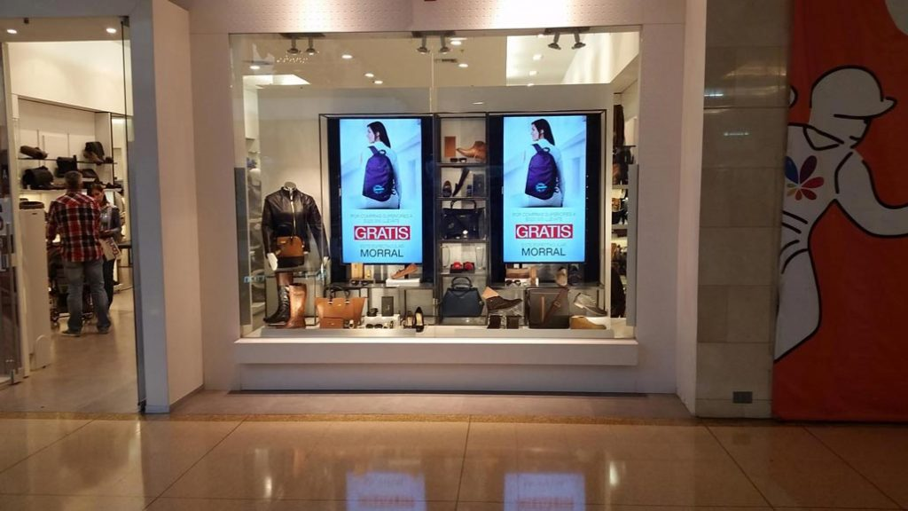 Retail Promotional Screens