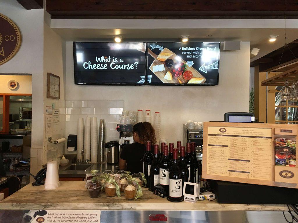 Cheese Course Digital Menus for Restaurant