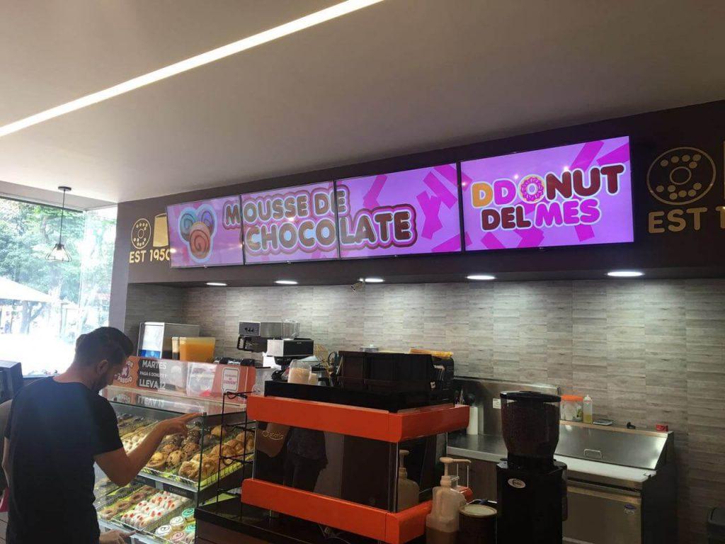 Digital Menu Solutions for Dunkin Donut Restaurants