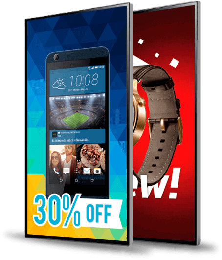 Retail Digital Signage Promotional TVs