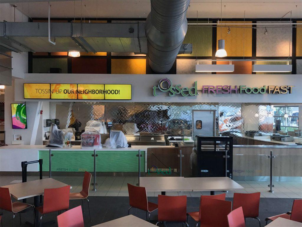 Tossed Restaurant Digital Menu Boards